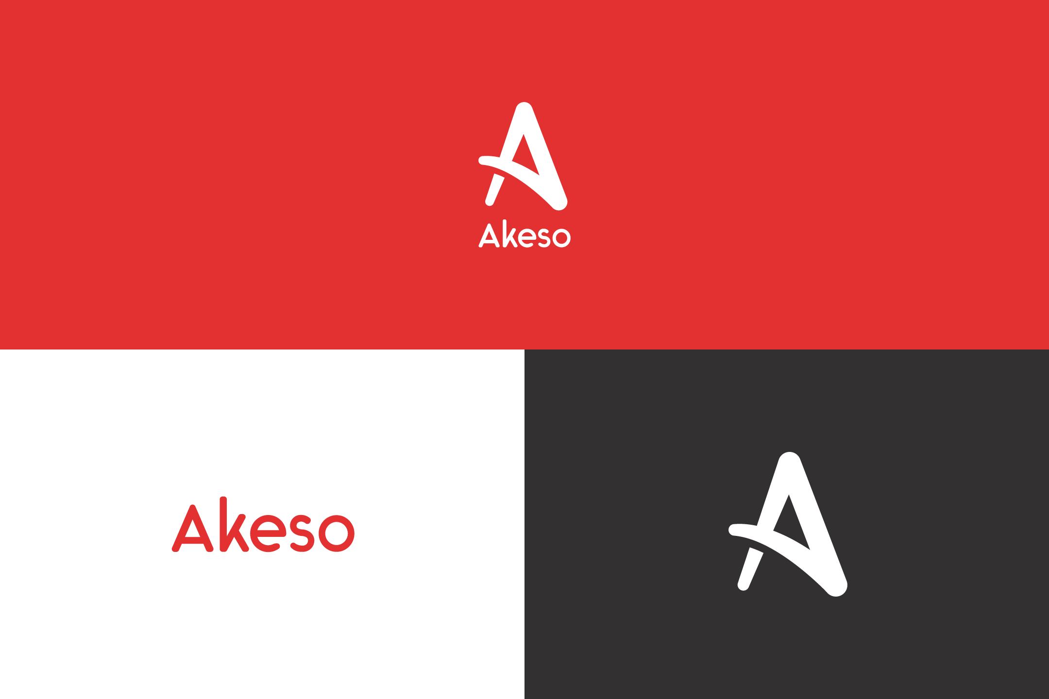 Akeso Socks Logo Specimen Sheet